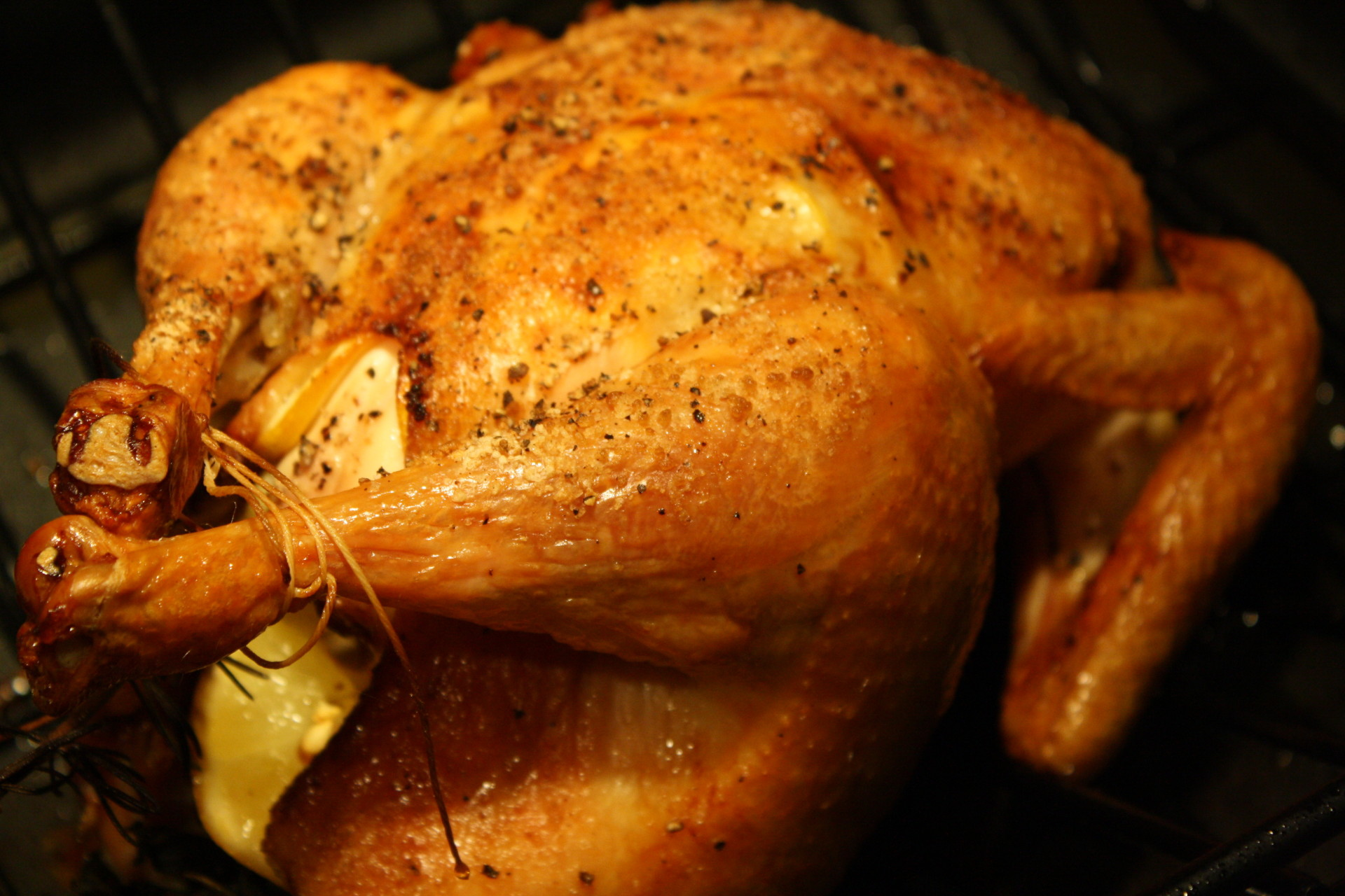 Perfect free range roast chicken neals and son butchers for Roast chicken uk